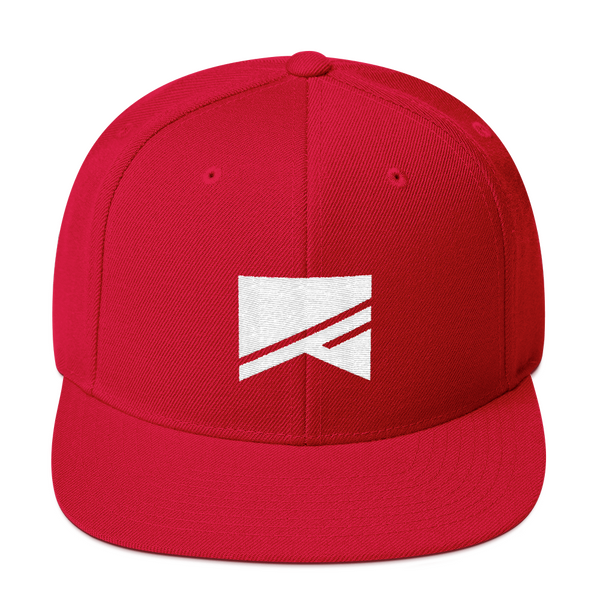 Snapback Hat - 19 Colors! - No Barriers Hats - Red