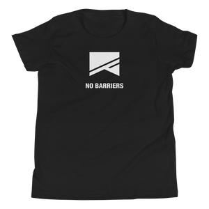 Youth Short Sleeve T-Shirt - No Barriers Apparel - Black / S