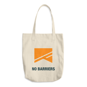 Cotton Tote Bag - No Barriers Accessories - Default Title
