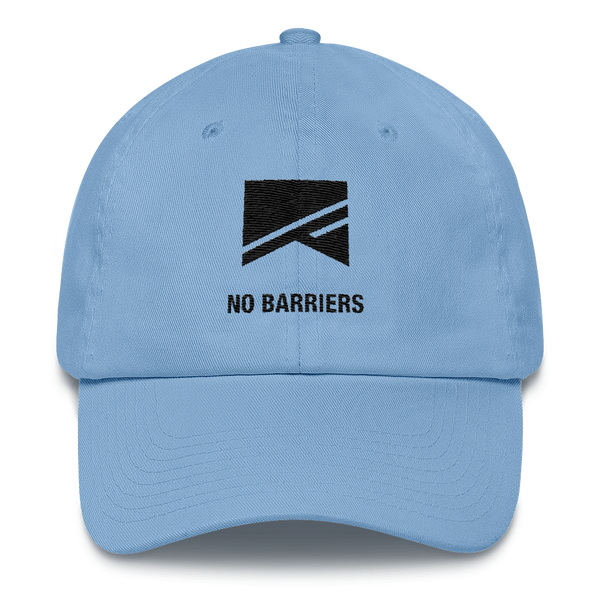 Cotton Ballcap - 10 Colors! - No Barriers Hats - Carolina Blue