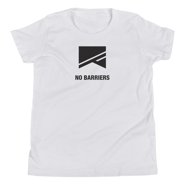 Youth Short Sleeve T-Shirt - No Barriers Apparel -