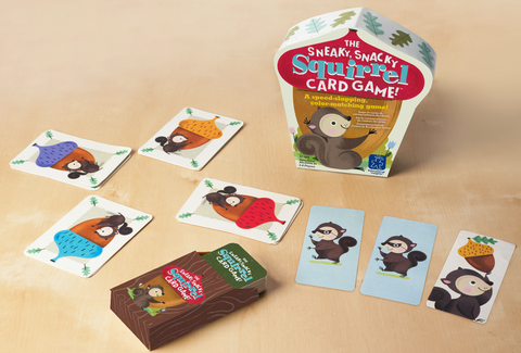 Sneaky Snacky Squirrel Card Game - No Barriers Games -