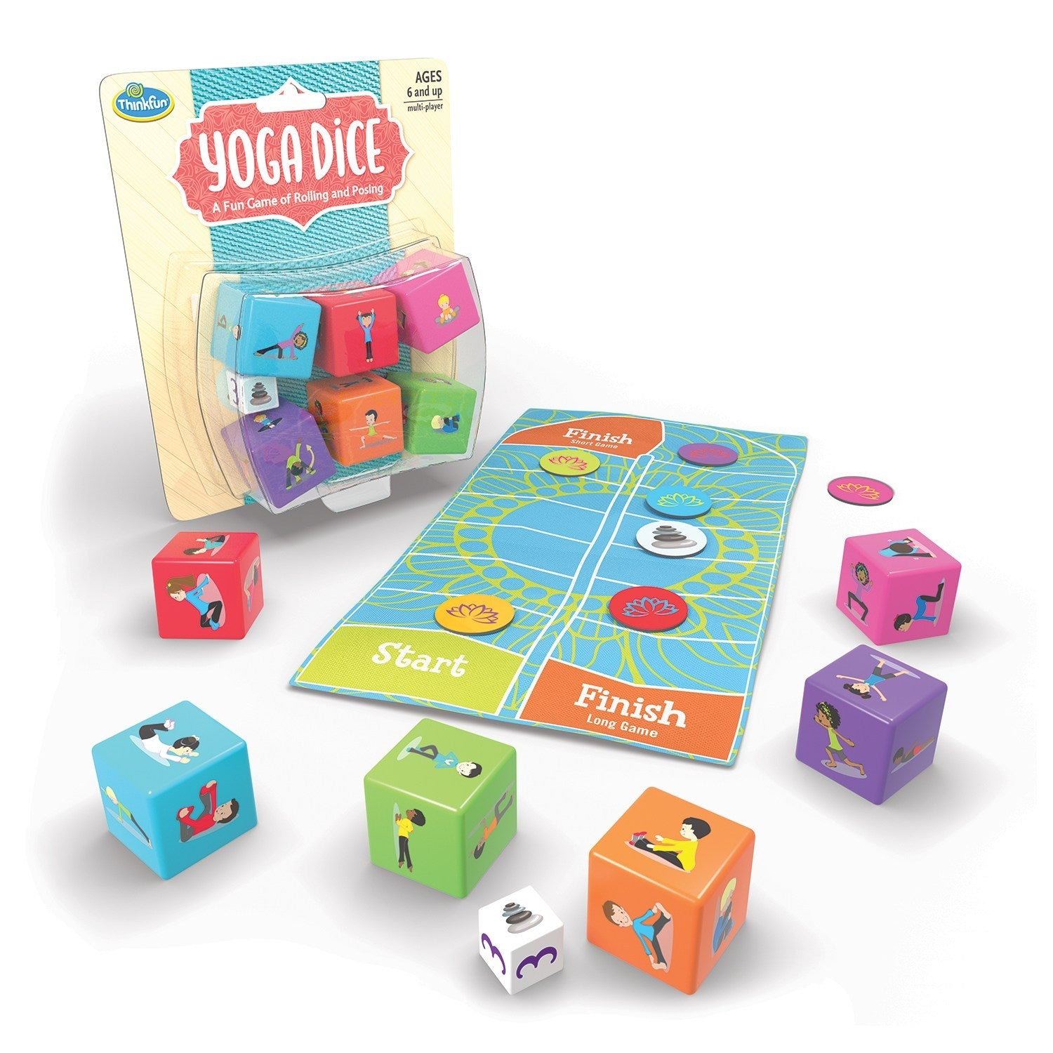 Yoga Dice - No Barriers Games -