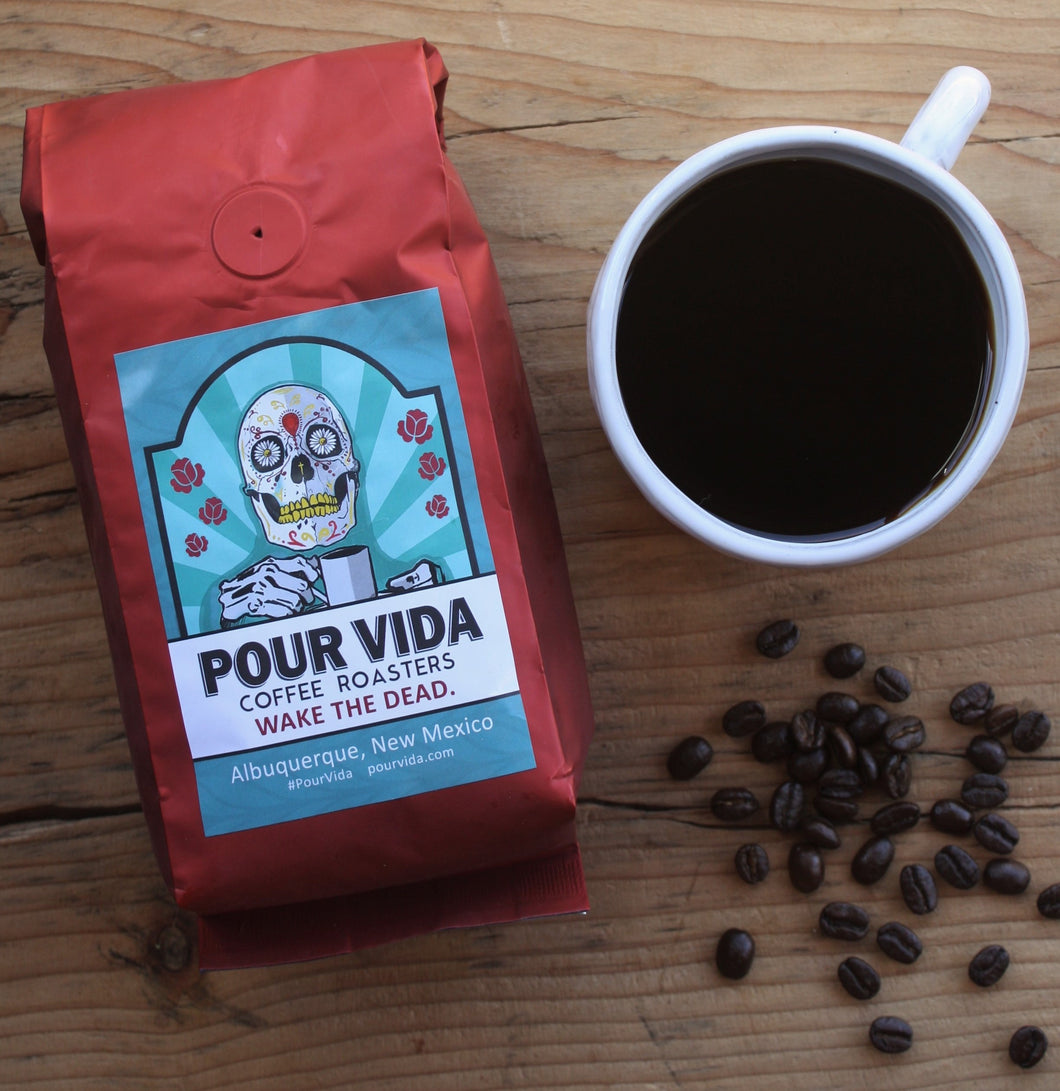 Pour Vida Guatemalan Medium Roast Organic Coffee