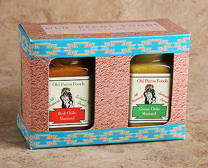 Red Chile & Green Chile Mustard Gift Pack