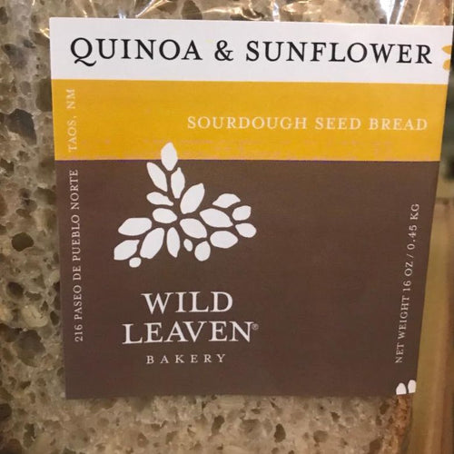 Wild Leaven Quinoa & Sunflower Bread