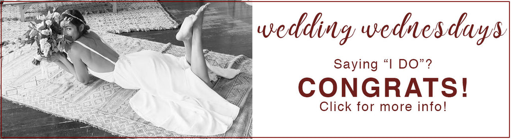 wedding bridal specials sale