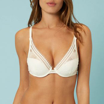 CITADINE Triangle Push-Up Bra in Natural