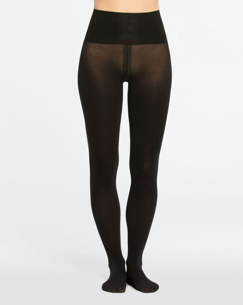 Tummy Shaping Tights in Very Black