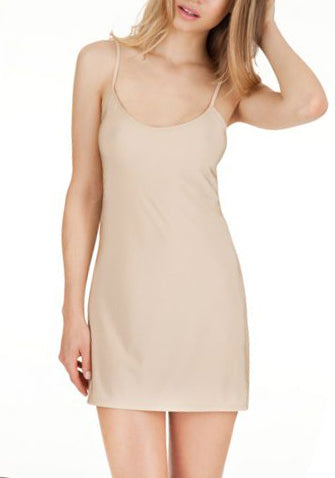 SECOND SKIN Short Chemise in Nude