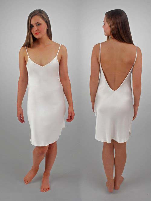 HART Low Back Chemise in Porcelain