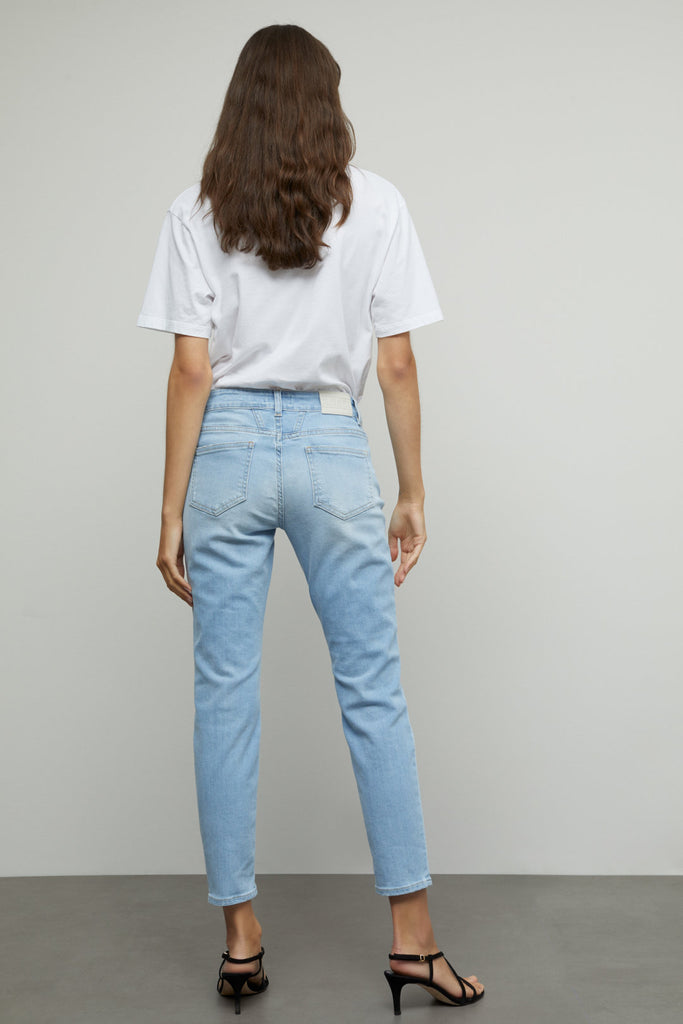 BAKER Super Stretch Denim in Light Blue