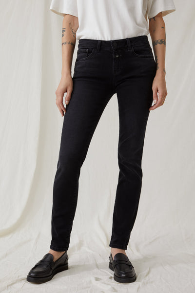 BAKER LONG Soft Stretch Denim in Black