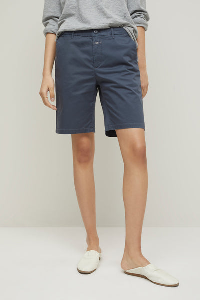 HOLDEN Cotton Twill Shorts in Thunder Sky