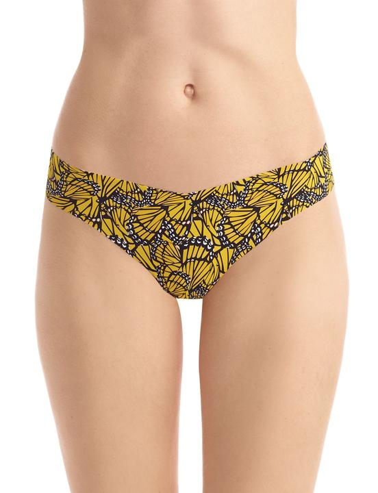 CLASSIC Yellow Butterfly Thong