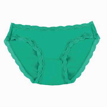 Knickers in Emerald Green