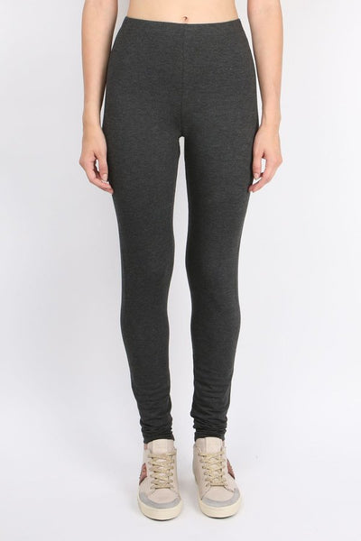 Fleece Legging in Anthracite