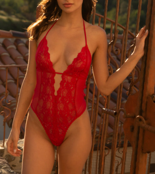 HEARTBREAKER Teddy in Red