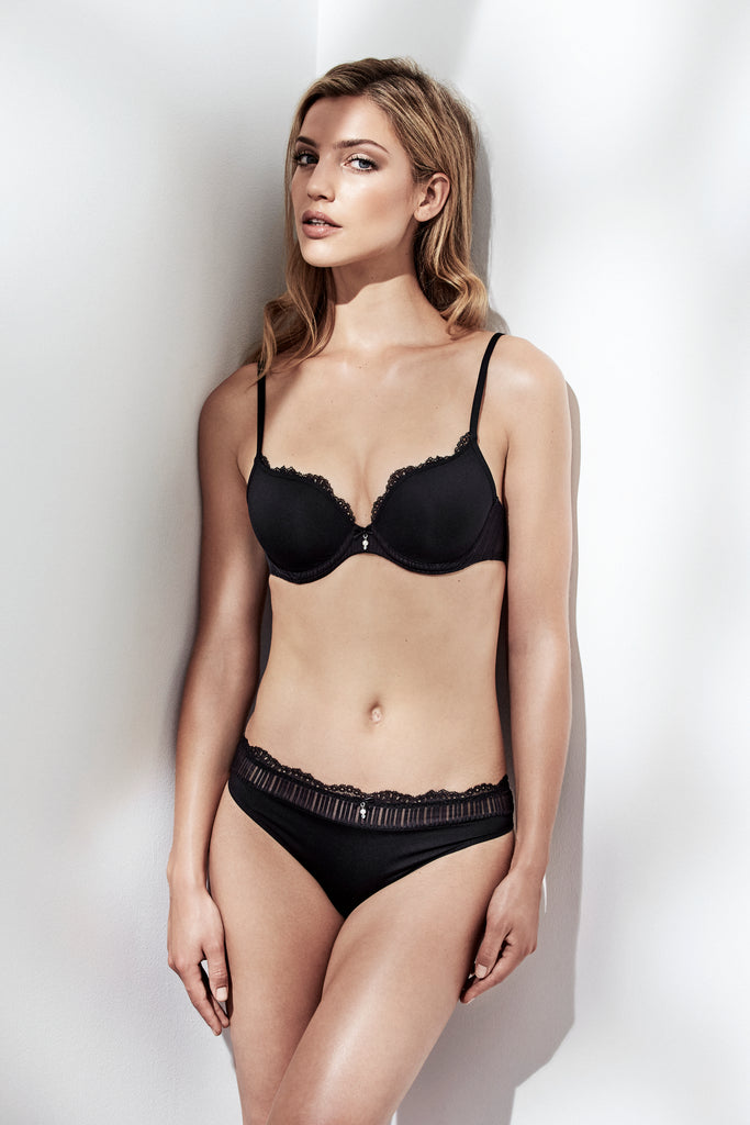 SOFIA Italian Briefs in Black