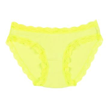 Knickers in Neon Yellow