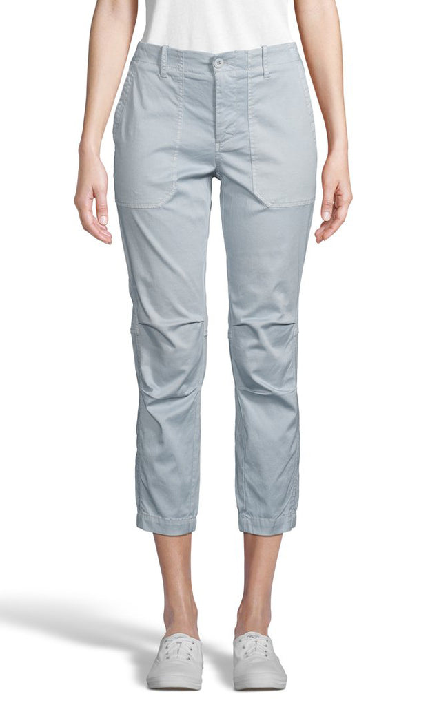 INDIANA Cotton Lyocel Pants in Blue Stone
