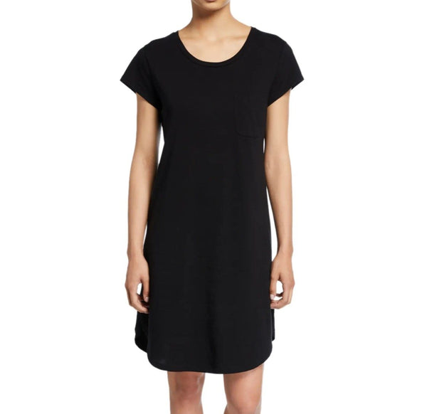 CARISSA Sleep Shirt in Black