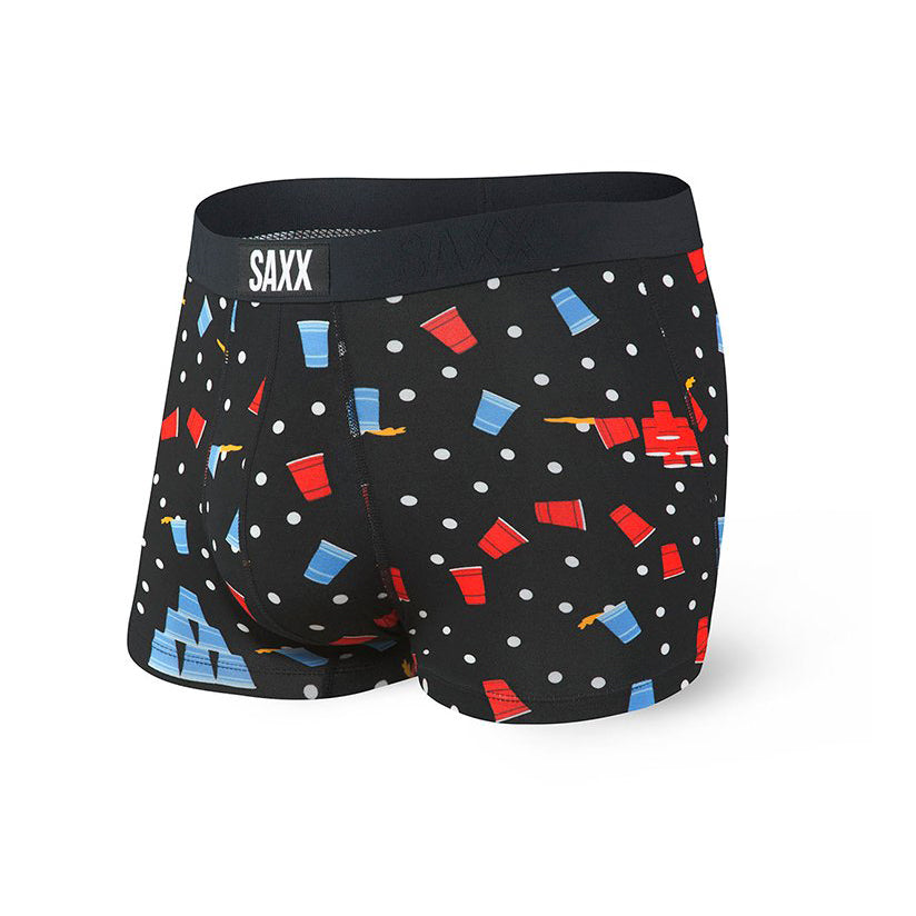 VIBE Boxer Brief in Black Beer Champs