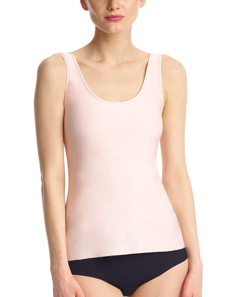 Lifted Butter Tank w/ Shelf Bra in Blush
