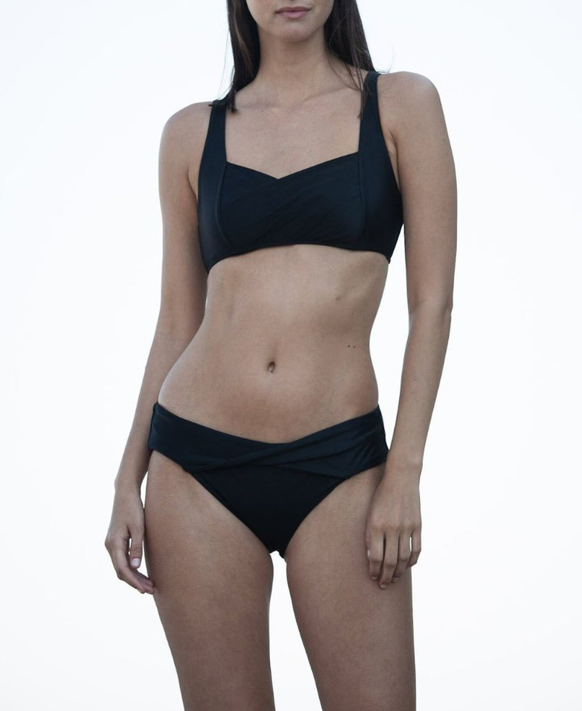 GWEN Underwire Bikini in Black