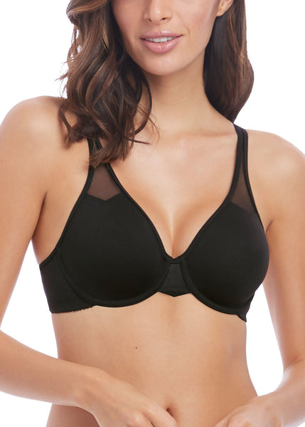 WINDOWS/BODY Seamless Underwire Bra in Black