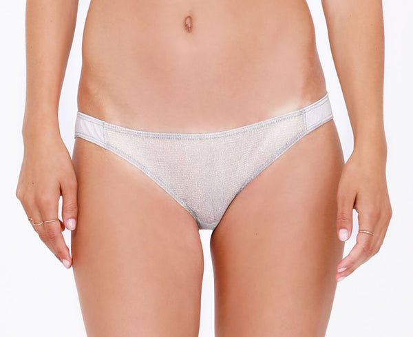 INES Panties in Silver Shadow
