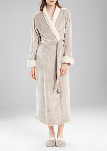 Sherpa Long Robe in Cashmere