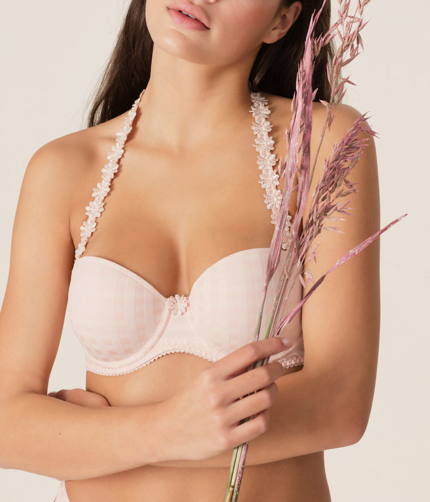 AVERO Balcony Bra in Pearly Pink