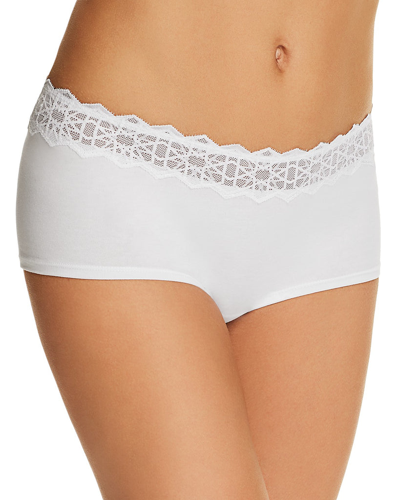 AVI Boyshort in Star/White