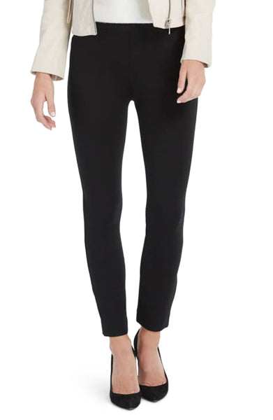Backseam Skinny Ponte Pants in Black