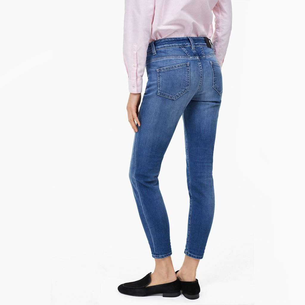 Baker Long Jeans in Washed Down