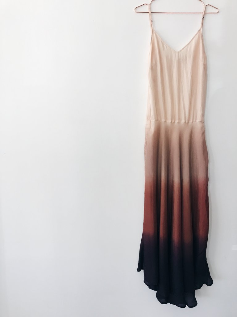 Bali Dress in Powder Shadow