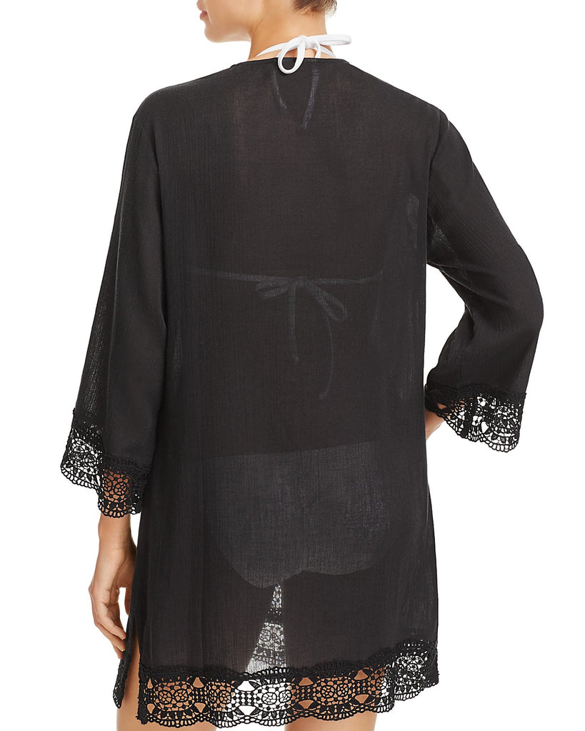Island Fare Tunic in Black