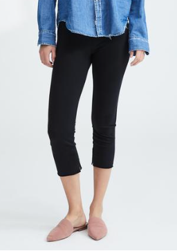 LAB610 Cropped Legging in Blackout