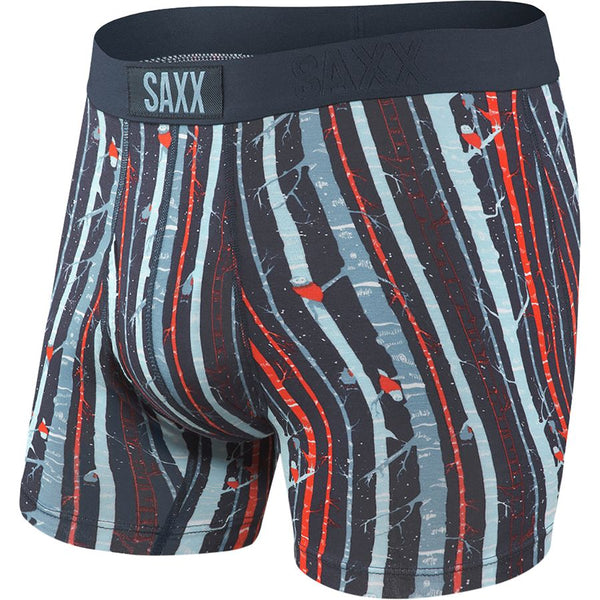 ULTRA Boxer Brief w/ Fly in Black Snow Owl
