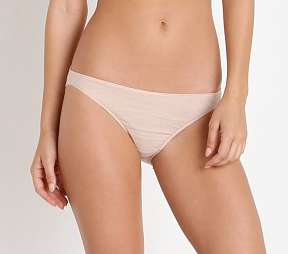 Organic Cotton Briefs in Bone