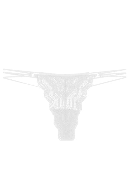 CEYLON Lowrider Thong in White