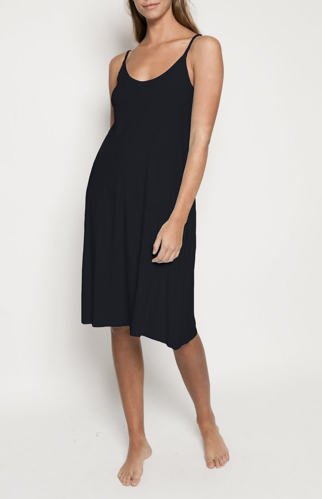 Desert Tank Dress in Black