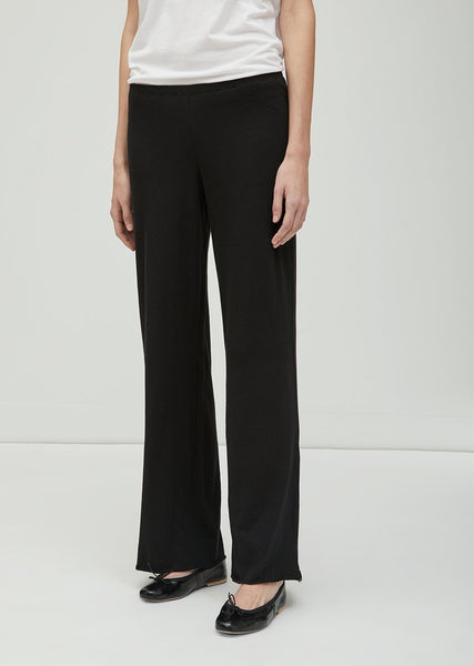 Double Layer Pants in Black