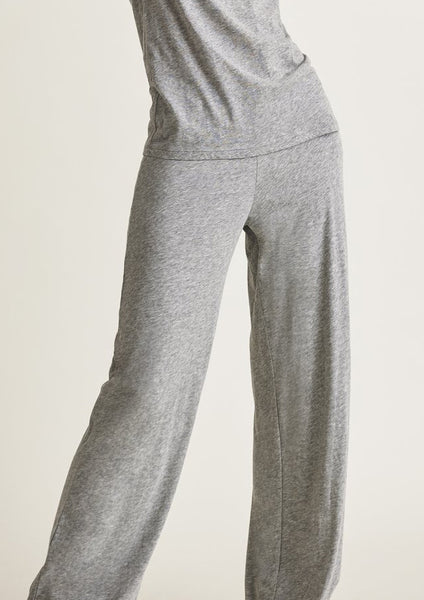 Double Layer Pants in Heather Grey