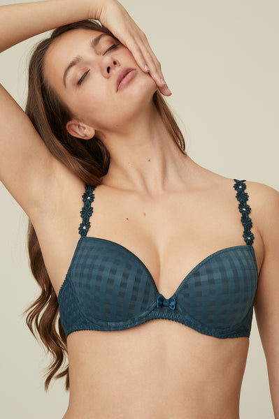 AVERO Plunge Bra in Empire Green