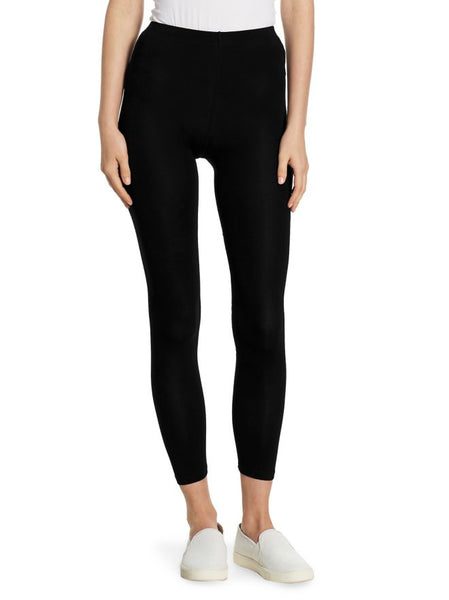Fleece Legging in Noir