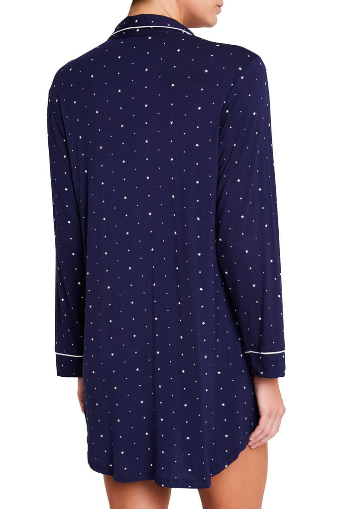 SLEEP CHIC Sleepshirt in Northern Stars/Ivory