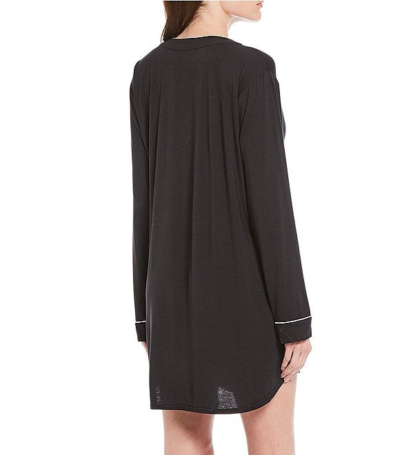 HENNING Sleep Dress in Black