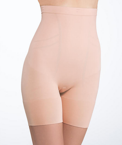 SLIM COGNITO High Waist Mid Thigh in Rose Gold